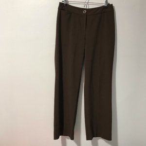 Chico's Brown Trouser Pants Size 0
